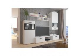 MUR TV 2M30 BLUES Noir/blanc