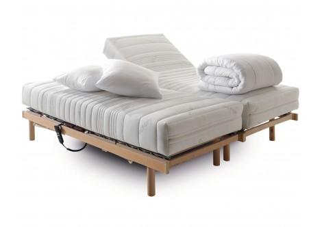 Ensemble relaxation électrique 140X190 OU 160X190CM